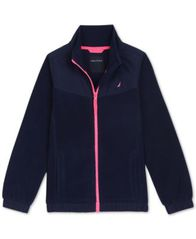 Image of Nautica Big Girls Polar Fleece Jacket