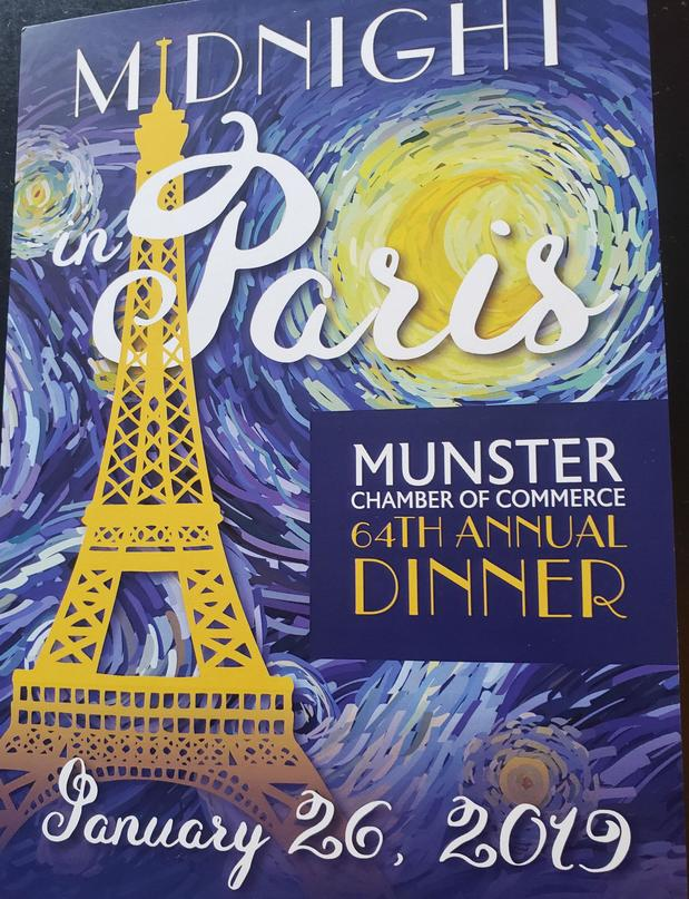 Nick Adams - Munster Chamber of Commerce 64th Annual Dinner