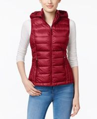 Image of 32 Degrees Hooded Packable Down Puffer Vest