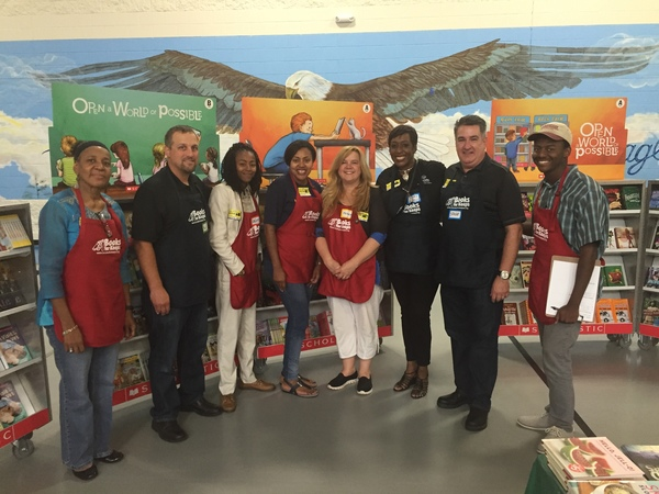 Arlisher Jones - Allstate Foundation Helping Hands Grant for Books for Keeps