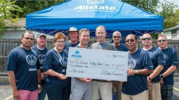 Michael Woods - Allstate Foundation Grant for Wabash Valley Health Center