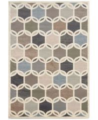 "Image of CLOSEOUT! Oriental Weavers Warren Cove WC90W Intersection 1'10"" x 7'3"" Runner Rug"