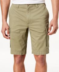 "Image of Club Room Men's 10"" Cargo Shorts, Created for Macy's"
