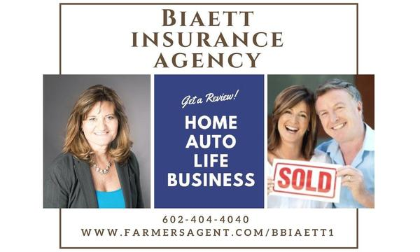 Call Biaett Insurance Agency for reviews on auto, home, life, or business policies.
