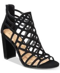 Image of Material Girl Cadence Caged Sandals, Created for Macy's