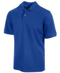 Image of Club Room Classic-Fit Solid Performance UPF 50+ Polo, Created for Macy's