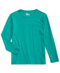 Image of Epic Threads Solid Pocket T-Shirt, Little Boys (4-7), Created for Macy's
