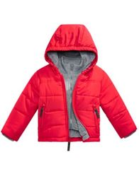Image of S. Rothschild Baby Boys Hooded Layered-Look Puffer Jacket