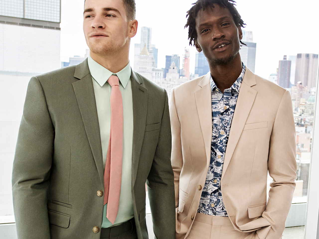 Shop men's suits at Express online or in-store
