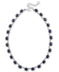 "Image of Charter Club Crystal Collar Necklace, 17"" + 2"" extender, Created for Macy's"