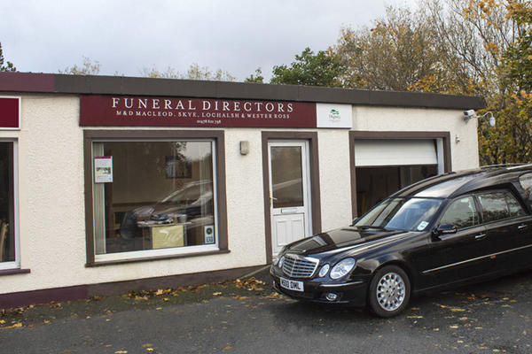 M & D MacLeod Funeral Directors in Portree