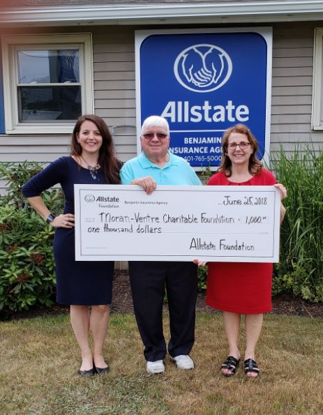 Cara Benjamin - The Allstate Foundation Helps John E Moran Foundation