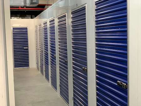 Kent Ave Storage Facility Interior