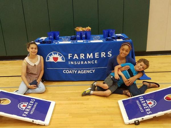 Working the YMCA Twin Lakes -  Healthy Kids Day Event!
