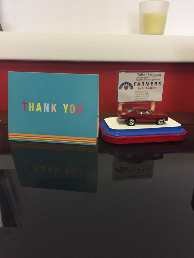 Thank You Card From Clients