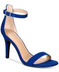 Image of Material Girl Blaire Two-Piece Dress Sandals, Created for Macy's