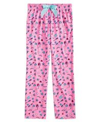 Image of Max & Olivia Big Girls Printed Pajama Pants, Created for Macy's