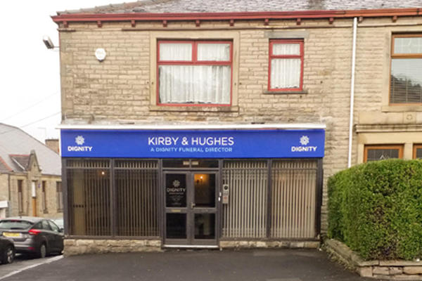 Kirby & Hughes Funeral Directors in Accrington, Lancashire.