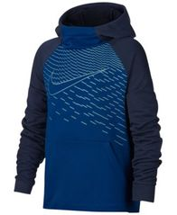 Image of Nike Dri-FIT Logo-Print Training Hoodie, Big Boys (8-20)