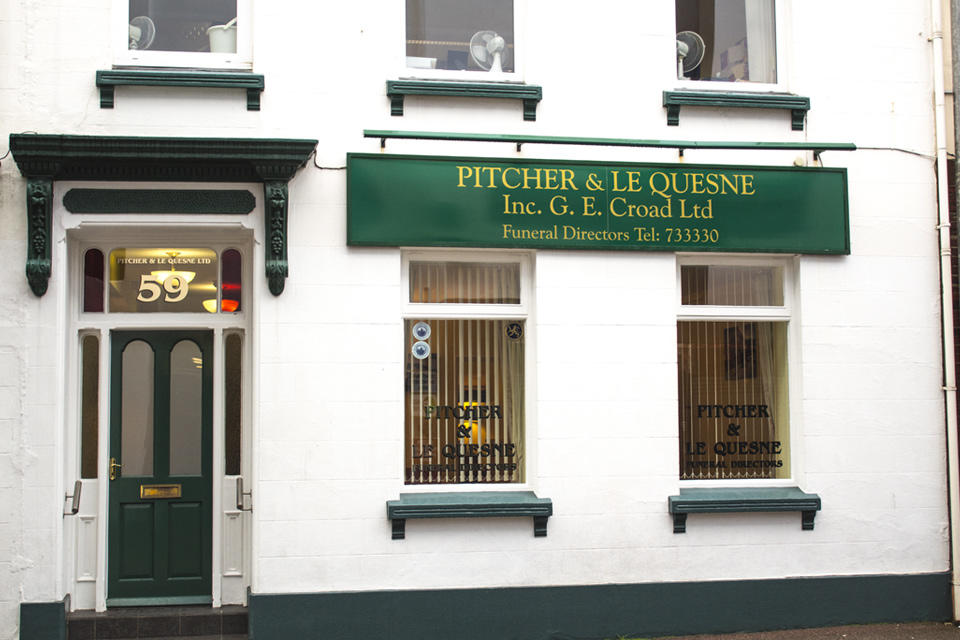 Pitcher & Le Quesne Ltd Funeral Directors in St Helier, Jersey.