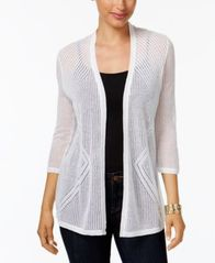 Image of Charter Club Pointelle Cardigan, Created for Macy's
