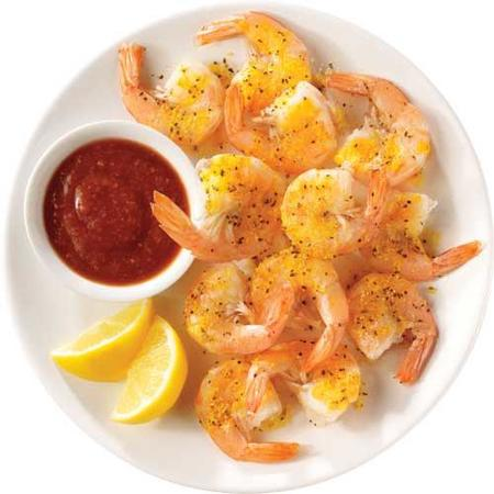 Image of Lemon Pepper Steamed Shrimp