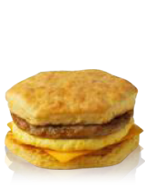 Hot Breakfast Sandwich Image