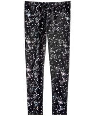 Image of Epic Threads Big Girls Foil-Print Leggings, Created for Macy's