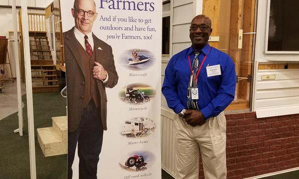 Me at the University of Farmers® in Grand Rapids, Mi