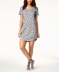 Image of Jenni by Jennifer Moore Printed Sleepshirt, Created for Macy's