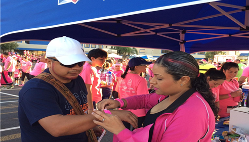 Mission PinkWalk/Run for breast cancer awarness
