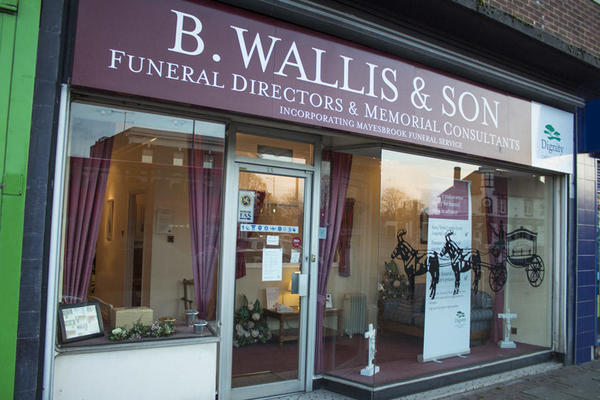 B Wallis & Son Funeral Directors in Longbridge Road, Barking
