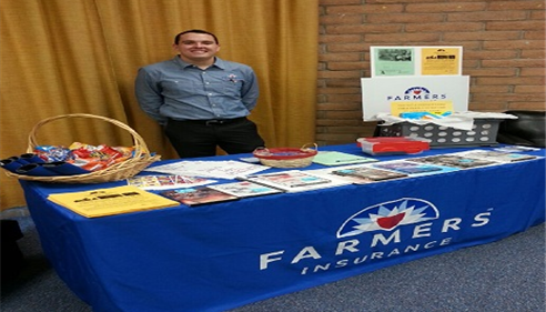 Tyler, our senior marketer, supporting the teachers of Tortolita Middle School!