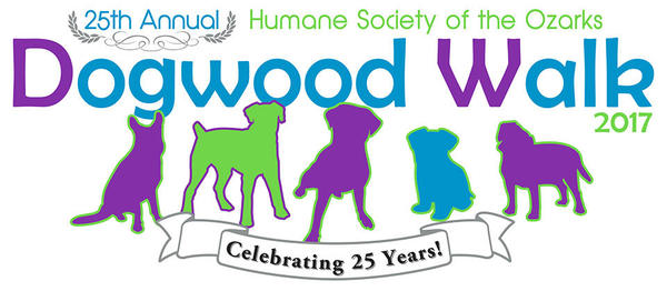 Proud to sponsor the Dogwood Walk, benefiting the Humane Society of the Ozarks!