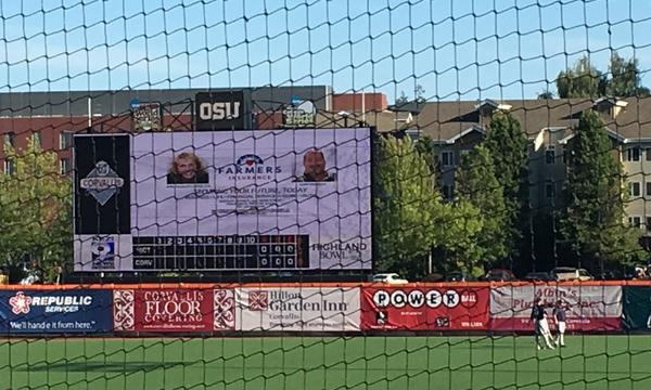 Corvallis Knights Law Appreciation Night this past season.