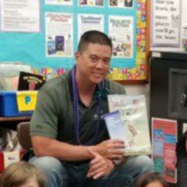 Marc Dixon - Kapolei Elementary School's Career Read Aloud Day