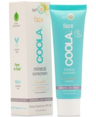 Image of Coola Face Mineral Sunscreen Unscented Matte Tint SPF 30, 1.7-oz.