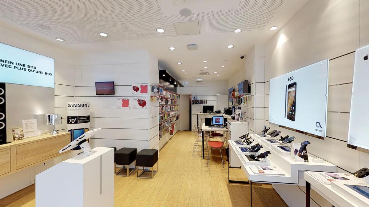 boutique sfr paris montparnasse forfaits t l phone et. Black Bedroom Furniture Sets. Home Design Ideas