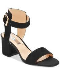 Image of INC International Concepts Women's Hallena Block-Heel Dress Sandals, Created for Macy's