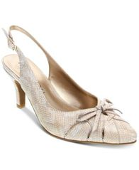 Image of Karen Scott Glenna Slingback Pumps, Created for Macy's