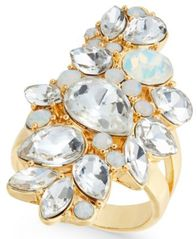 Image of I.N.C. Gold-Tone Crystal Cluster Ring, Created for Macy's