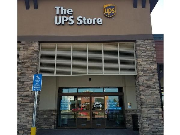 Exterior storefront image of The UPS Store #6851 in Norco, CA
