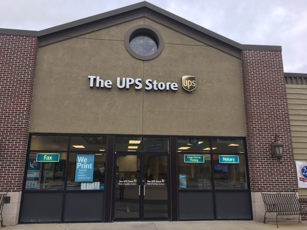 Facade of The UPS Store Kearney