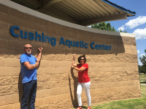 Cushing Aquatic Center AKA:  Cushing Water Park