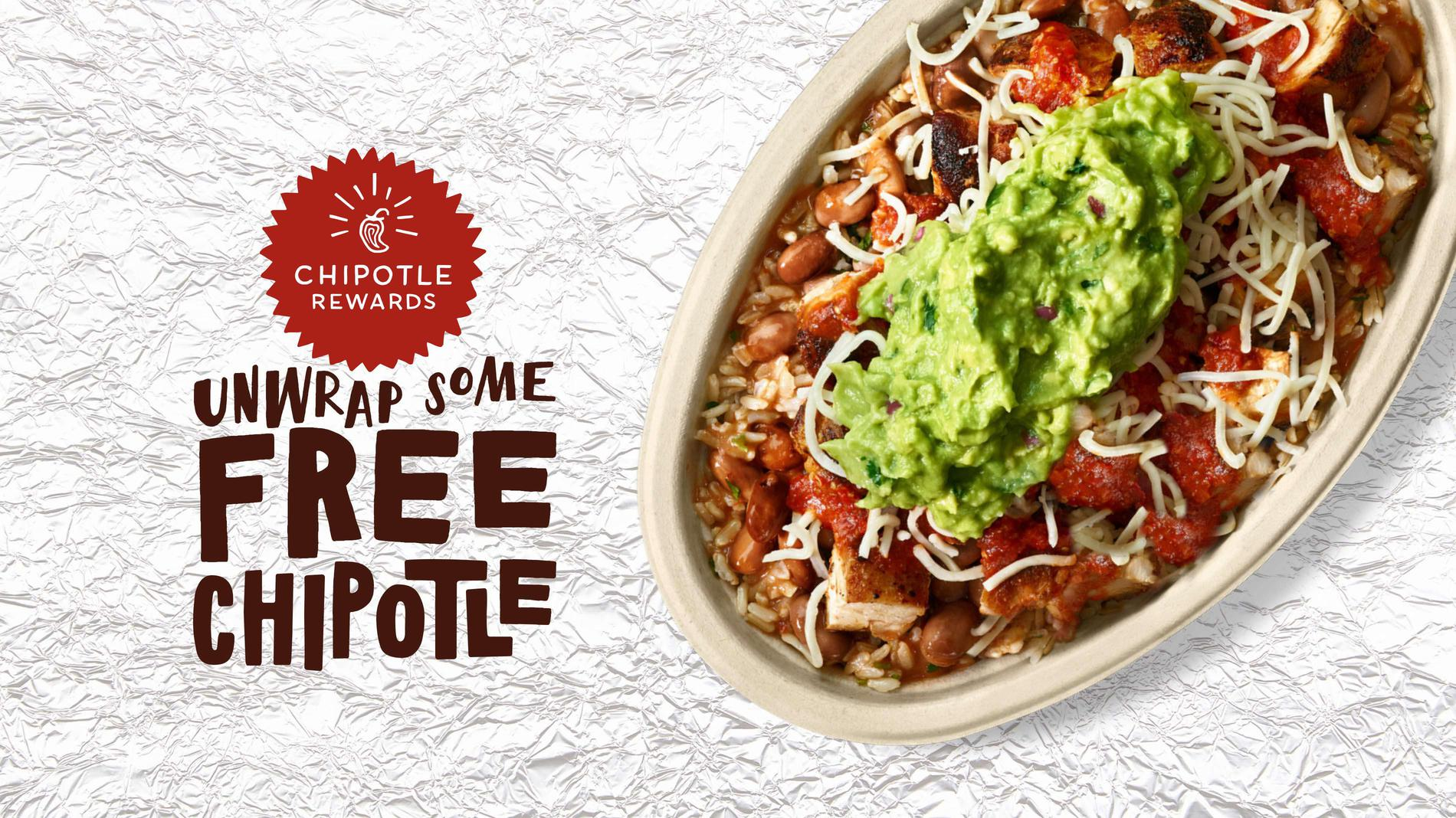Chipotle Rewards is here