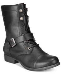 Image of American Rag Farahh Combat Booties, Created for Macy's