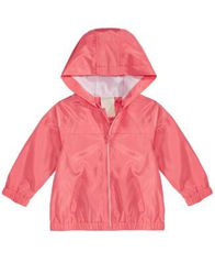 Image of First Impressions Baby Girls Hooded Windbreaker Jacket, Created for Macy's