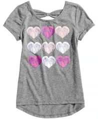 Image of Epic Threads Heart-Print T-Shirt, Big Girls, Created for Macy's