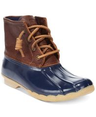 Image of Sperry Women's Saltwater Duck Booties