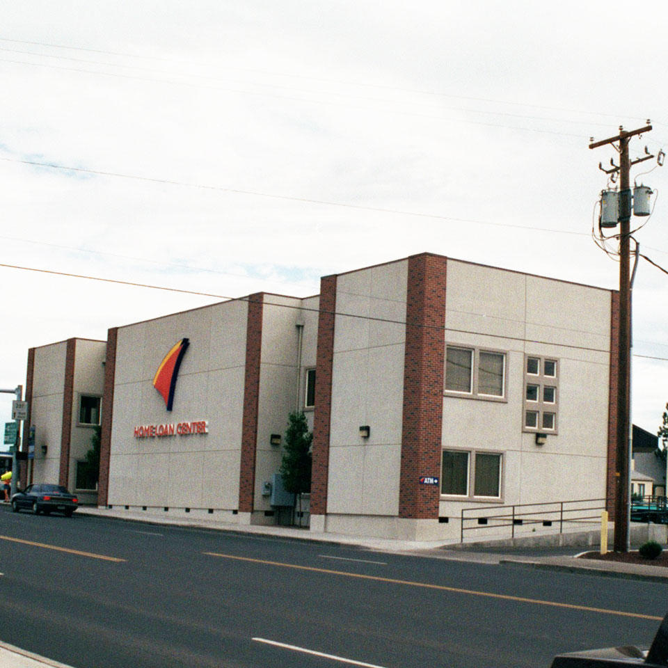 Banner Bank commercial banking center in Hermiston, Oregon